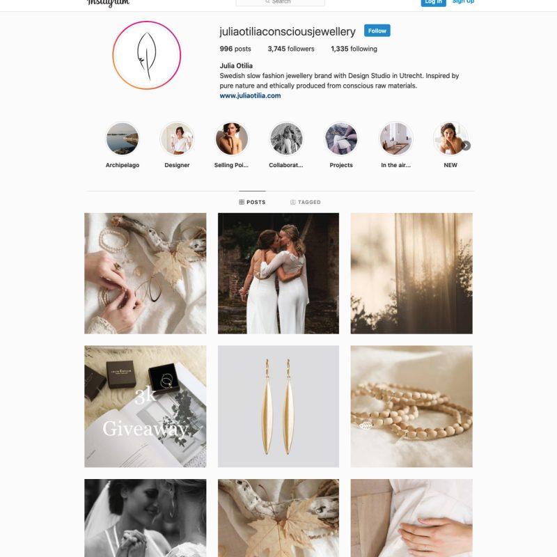 Jenny Tam Thai creative communication instagram management Julia otilia