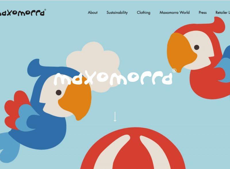 Jenny tam thai maxomorra website design