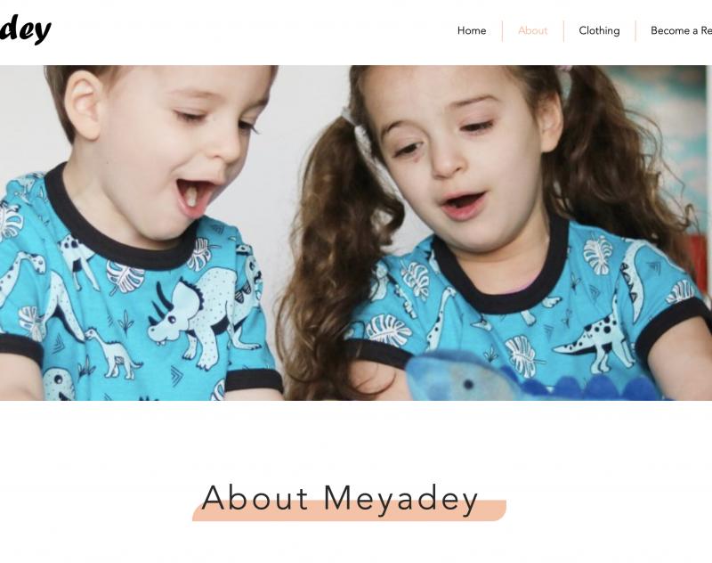 meyadey brand story Jenny tam thai website