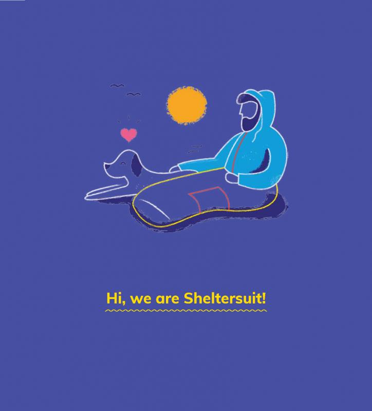 sheltersuit lesbos campaign copywriting Jenny tam thai